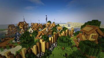 Plains Village - Transformation / Transformación de aldea Minecraft Map & Project