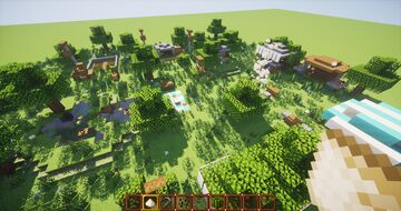 Weird campsite thing? (1.15+) (no mods) Minecraft Map & Project