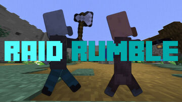 Raid Rumble 1.15.2 PvE map Minecraft Map & Project