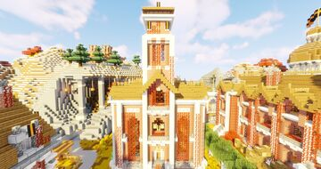 Government Building Minecraft Map & Project