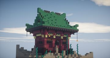 """""""pagode et Nether"""" Minecraft Map & Project"""