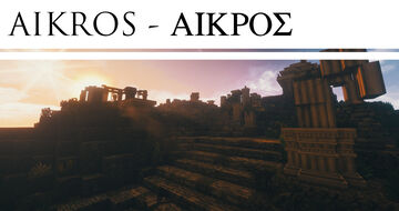 Aikros - Ancient Greek Ruin Island [Conquest Reforged] Minecraft Map & Project