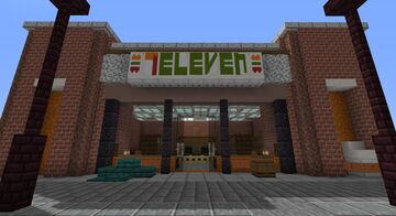 7-Eleven Minecraft Map & Project