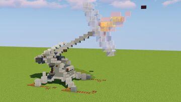 Artillery Gun Firing Minecraft Map & Project