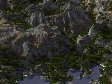 Ulena Canyon Lake Minecraft Map & Project