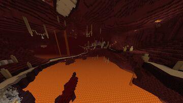 Alien Nether Hub Minecraft Map & Project
