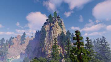 Wulkan na Wyspie Minecraft Map & Project