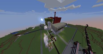 Atom Nuclear power plant Minecraft Map & Project