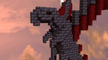 Baby Dragon w/ Download Minecraft Map & Project