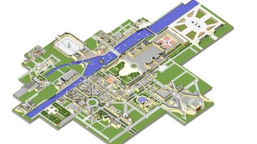 Paris, France Minecraft Map & Project