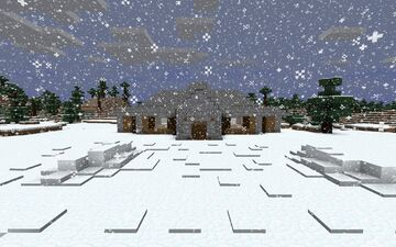 The Snow Effect | Normal Building | Minecraft Map & Project
