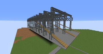Titanic Arrol Gantry Harland and Wolff Minecraft Map & Project