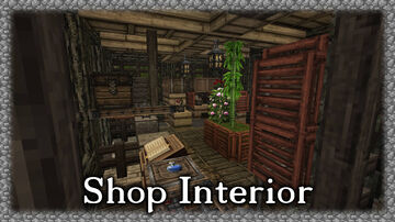 Darkish Shop Interior Minecraft Map & Project