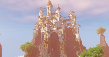 City - White sky Minecraft Map & Project