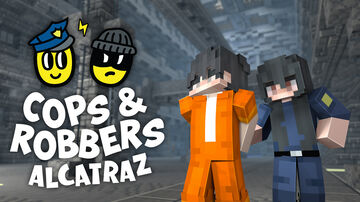 Cops and Robbers 3: Alcatraz - Bedrock Edition Minecraft Map & Project