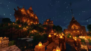 ➢Minecraft a Medieval Church Minecraft Map & Project