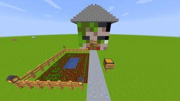 The Head-House of Yuki Minecraft Map & Project