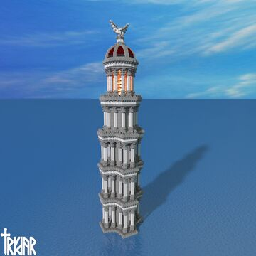 Roman Lighthouse +tutorial Minecraft Map & Project