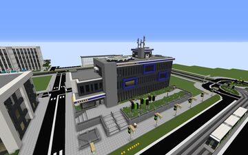 [Modern] Police Department / Station 2 Minecraft Map & Project