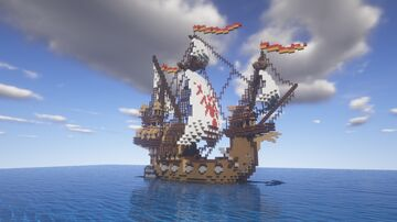 The 'Durmstrang' Ship - Harry Potter and the Goblet of Fire Minecraft Map & Project