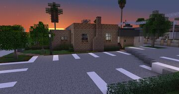Los Llanos American Legion Hall Minecraft Map & Project