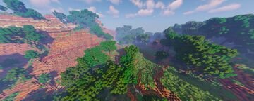 Rad sandstone Valley Minecraft Map & Project