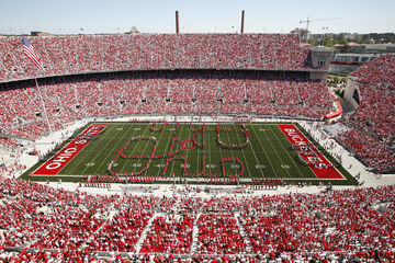 Minecraft Ohio Stadium- Home of the Ohio State Buckeyes (+Download) Minecraft Map & Project