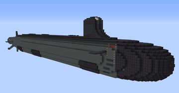 USS Jimmy Carter SSN-23 Minecraft Map & Project
