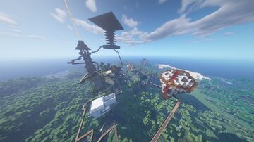 4 Day Survival World Minecraft Map & Project