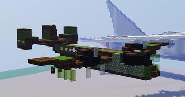 Grumman OV-1 Mohawk (United States Army) Minecraft Map & Project