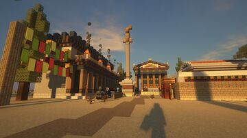 TEMPLES OF AKLEPTOS Minecraft Map & Project