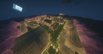 Melonness's Birch Village Minecraft Map & Project