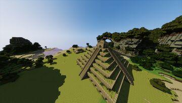 The Ancient Olmec (Pre-Diluvian Civilization) Minecraft Map & Project