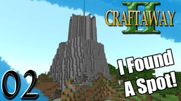 Finding a Place to Build - Craftaway Bedrock SMP Minecraft Map & Project