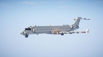 1,5:1 Bombardier CRJ-700 Minecraft Map & Project