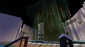 Center Tree Village Minecraft Map & Project