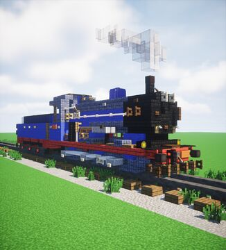 Caledonian Railway Class 812 Minecraft Map & Project