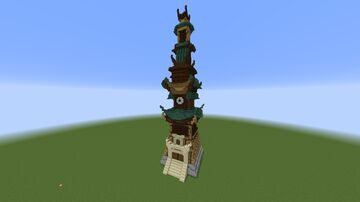 Master Wu's Academy (Ninjago) Minecraft Map & Project