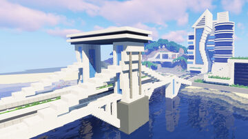 Futuristic City #7 Minecraft Map & Project