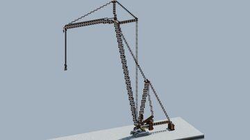 Liebherr LR 11000 Crawler Crane [With download] Minecraft Map & Project