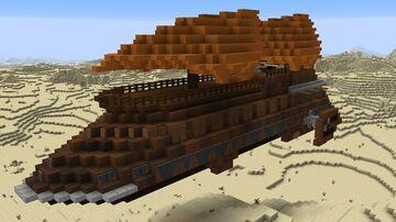 Star Wars - Jabba's Sail Barge & Skiff Minecraft Map & Project