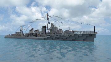Asashimo | 1:1 Yugumo-class Destroyer Minecraft Map & Project