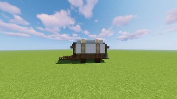 Wagon Schematic Minecraft Map & Project