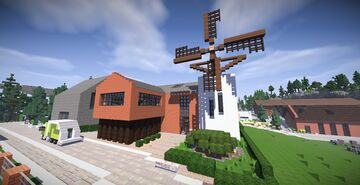 Modern house | MFC Minecraft Map & Project