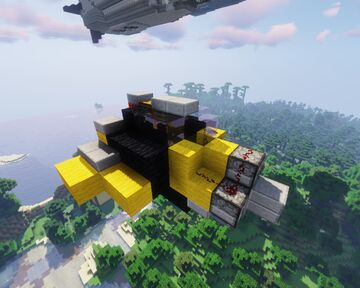 Imperial Aircraft Works Fighter plane MK-I for movecraft Minecraft Map & Project