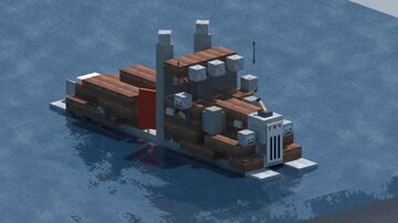 Peterbilt truck pontoon boat, thing... [With download] Minecraft Map & Project