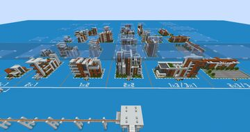 Procedural metropolis build submit Minecraft Map & Project