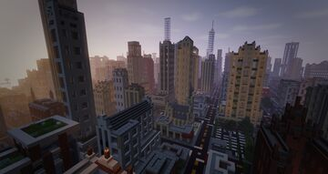 Chicago map scale 1:4 Minecraft Map & Project