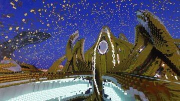 Golden Mothership StarCraftII Minecraft Map & Project