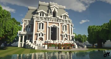 Victorian Mansion Minecraft Map & Project
